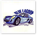 Blue Lagoon : Car caricature