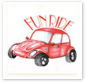 Fun Ride : Car caricature