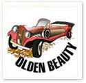 Olden Beauty : Car caricature