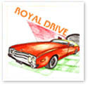 Royal Drive : Car caricature