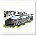 Smooth Drive : Car caricature