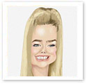 Denise Richard : Caricature from photo