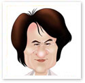 Jackie Chan : Caricature from photo