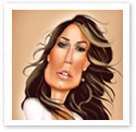 Jennifer Lopez : Caricature from photo