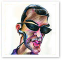 Romi : Caricature from photo