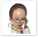 Executive Secretary : Corporate caricature