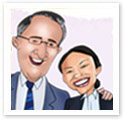 Professional Association : Corporate caricature