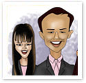 Young Executives : Corporate caricature