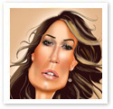 Jennifer Lopez : Digital caricature
