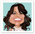 Paula Abdul : Digital caricature