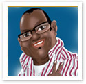 Randy Jackson : Digital caricature