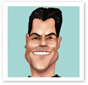 Simon Cowell : Digital caricature