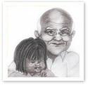 Grandpa Love : Family caricature