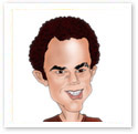 Pete Sampras : Sports caricature