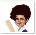 Sachin Tendulkar : Sports caricature