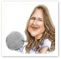 Steffi Graf : Sports caricature
