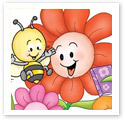 Flower Party : Children Illustration