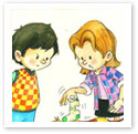 Friendship : Children Illustration
