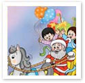 Merry Christmas : Children Illustration