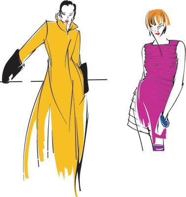 Fashion Illustrations | Fashion Design Illustrations