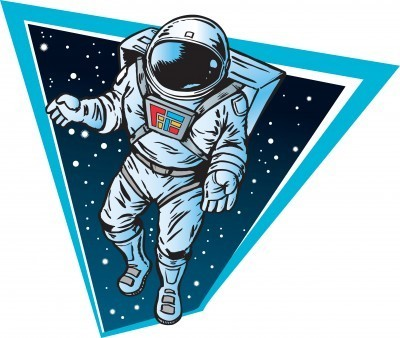 astronaut floating in space cartoon - photo #17