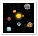 Planetary System : Scientific Illustration