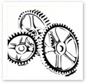 Cogwheel : Technical Illustration