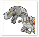 Robot Dinosaur : Technical Illustration
