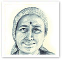 Mrs Singh : Portrait from photo