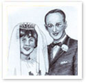 Just Married : Wedding portrait