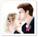 Kiss The Bride : Wedding portrait