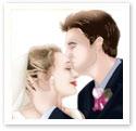 Kiss The Bride : Wedding portrait