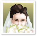 Mysterious Bride : Wedding portrait