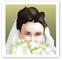 Mysterious Bride : Wedding portrait