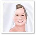 Smiling Bride : Wedding portrait