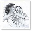 Wedding Dance : Wedding portrait